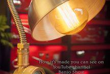 Steampunk DIY Industrial Pipe Lamp #9
