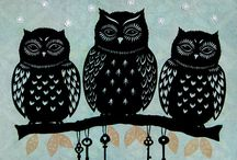 Owls <3 / My love of Owls <3
