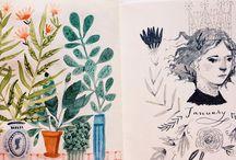 Sketches cahier de croquis