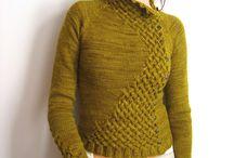 Strikke genseren
