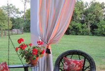 I'd rather be outside! / Decorating for outdoor living spaces / by Amanda Collins