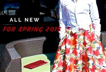Floral Skirt  New Look 6056! / The sequel to the M.D. Threadz floral print pants