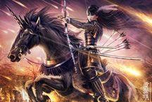 L5R Unicorn Clan / by Lumi Nautilus