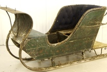 Carriages, sleighs and sledges