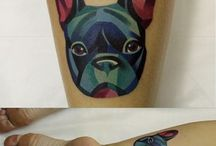 New tattoo? / New tattoo plan with frenchie design