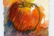 frutas desenho
