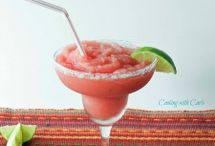 Delicious drinks / A delicious drink with watermelon