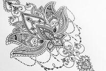 Mandala tetoválás