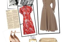 1940's Polyvore outfit