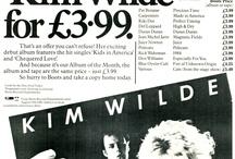 Kim Wilde adverts