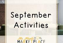 September Teaching Ideas / Start the school year off LIKE A BOSS!