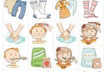 bildliche Darstellung für Kinder (Kita)