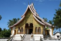Laos / Laos is quickly becoming a popular touristic destination. One of the main attractions is the UNESCO city of Luang Prabang.