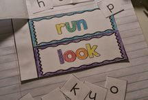 Sight Words / Ideas and activities to teach sight words.
