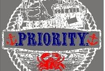 Priority / A unisex line. Comfort Colors is the new thing, very soft and a lot of color options.What's your PRIORITY?