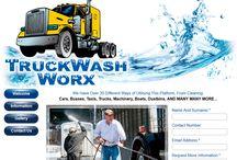 TruckWash Worx Website Design