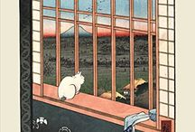 Japanese Posters / A selection of Japanese art prints and posters, available at www.onthewall.co.uk