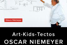 Art-Kids-Tectos: recorrido didáctico por el Centro Niemeyer / by Educa Niemeyer