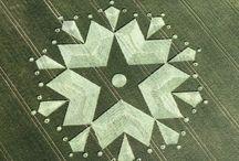 Crop Circles / Pins about crop circle phenomenon.