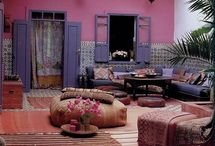 Déco violet / Inspirations sur le thème violet en décoration #violetdeco #decorationviolet #violet #purple