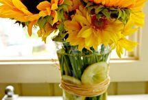 Dekorace- slunečnice