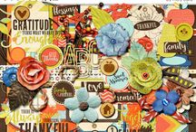 Abundance / Digital scrapbook layouts and projects with Abundance digital scrapbooking kit by Misty Cato available at Sweet Shoppe Designs / by Misty Cato