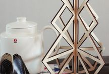 Treepot 3D trivet / Treepot has the same distinctive design as the Tree24 Christmas calendar, but as a trivet. Separate the two pieces to create a placement mat for your hot dishes.