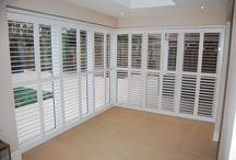 Bi-fold Shutters / Bi-folding shutters for patio windows