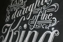 Fonts & Letters