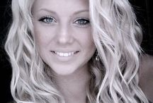 beautiful curls&hair