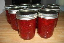 jams/lemon butter/preserves