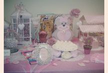 BABY party - candy station / set up for babies