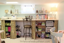 Craft Room Inspiration / by Susan Hillock