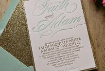 Wedding Invitation Ideas / Invitations created by others to give inspiration to those in need (including me!)
