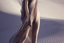 Sandstorm fashion photoshoot