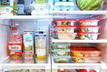 Menu Planning / Meal prep, menu plans, amd freezer cooking. Kitchen hacks to save time making dinner!