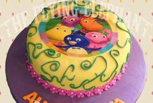 Baby themed cakes / Cakes for the little ones of the house Made by TFEB Chef Betsabe Bustillos