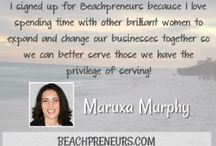 Beachpreneurs / Bold Breakthroughs at the Beach. What inspires your lifestyle dreams? If it helps you work smarter, not harder - we want to know about it!