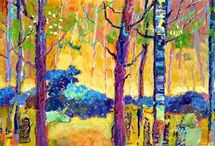 ART. Fine Art. Landscapes.Nancy Standlee / by Nancy Standlee