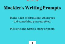 Kathryn Mockler's Writing Workshops / Writing Resources, Tips, Prompts, Courses, Coaching, and Manuscript Evaluation