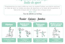 Exercices de muscu
