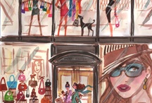 Henri Bendel Girl Prints