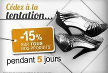 Promotion Carrelage / Atlantique Web Carrelage vous fait profiter de -15% sur tout son site de vente de Carrelage en ligne. N'hésitez plus, Cédez à la tentation !