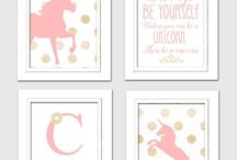 Girls room - Unicorn