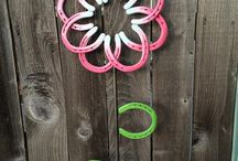 Re-purposing old horseshoes
