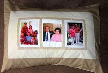 Photo Pillows / Portrait Quilts offers beautiful Suede Photo Pillows, Photo Quilt Shams or create your own with our custom photo squares.