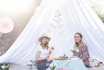 picnic inspiration. / Exciting picnic inspiration to prepare us girls for one of the best picnics we will ever have! Exciting picnics includes amazing friends and lots and lots of food