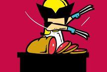 Wolverine / by Jenn Fujikawa - www.justjennrecipes.com