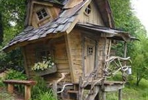 Tree Houses and Kids Play Houses / by Rachelle Cassano