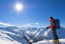 Winterwandern in den Alpen